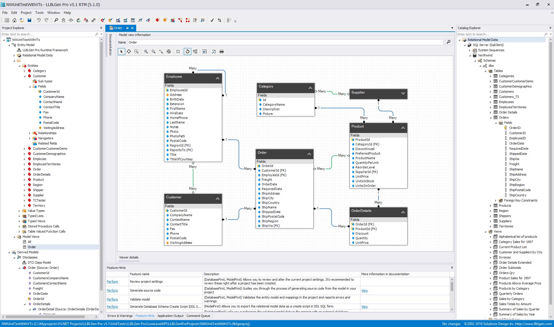 llblgen pro entity modeling solution and orm framework for net the llblgen pro designer
